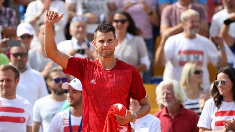 Roger Federer e Dominic Thiem não vão (mesmo) às Davis Cup Finals