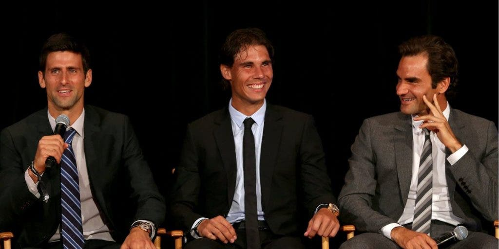 Federer Nadal Djokovic