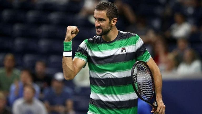 Cilic: «Há um grupo de jogadores com muita vontade em vencer o Federer e o Djokovic nas ATP Finals»