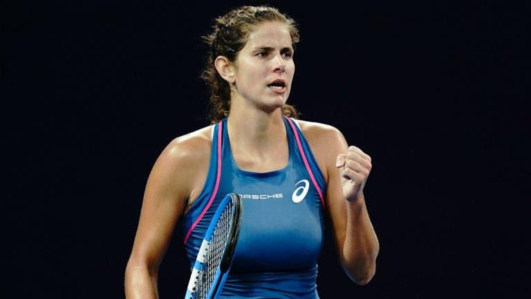 """Julia Goerges diz """"não"""" ao US Open por questões de segurança"""