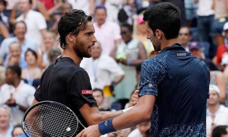João Sousa defende Djokovic após polémica na Adria Tour