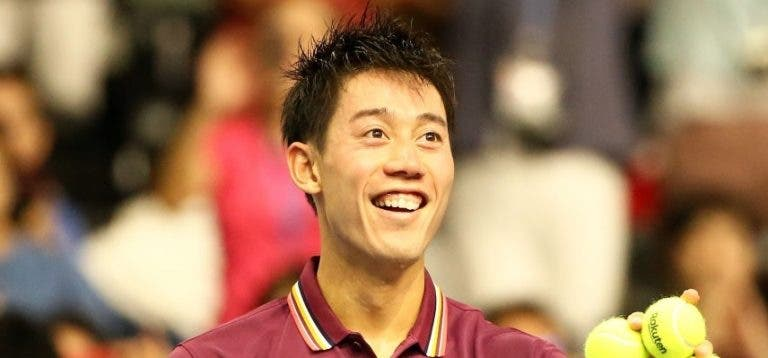 Kei Nishikori está de volta… já na próxima semana