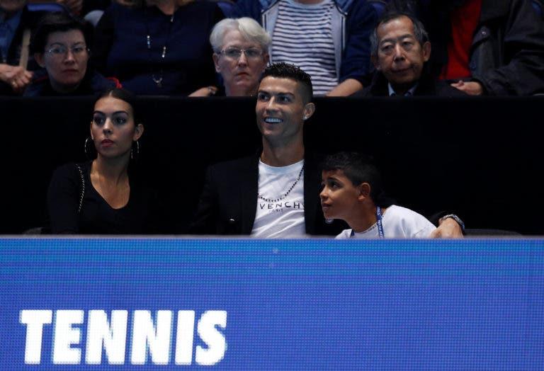 Djokovic sobre a presença de Ronaldo: «É muito bom que estrelas como ele venham ver ténis»