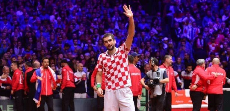 Cilic: «Perder ou ganhar com Federer e Nadal é sempre uma honra»