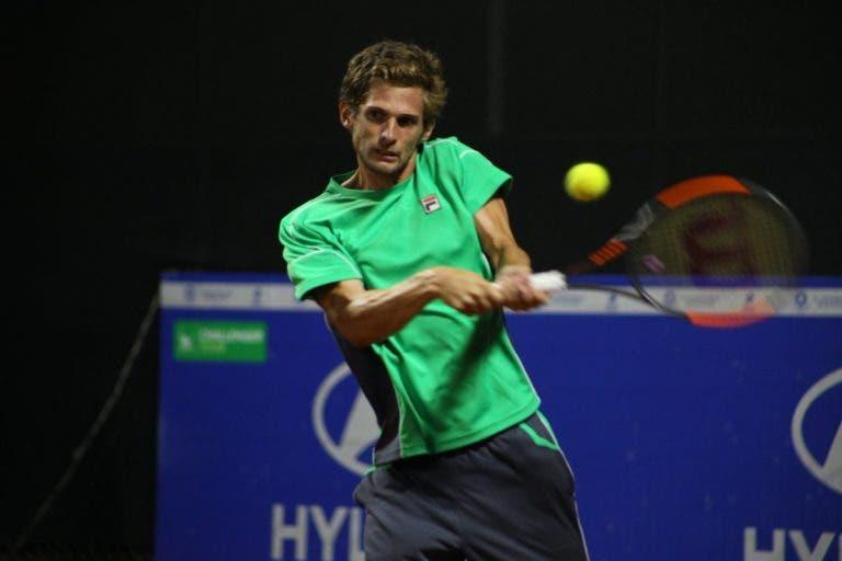 Pedro Sousa eliminado na primeira ronda de Santiago