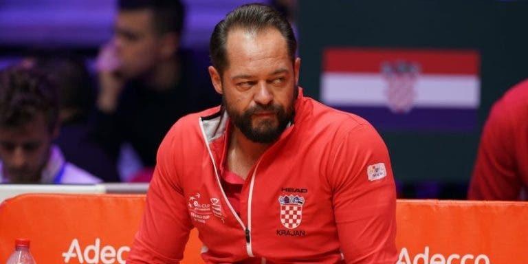 Selecionador croata queixa-se de diferença de tratamento na final da Davis