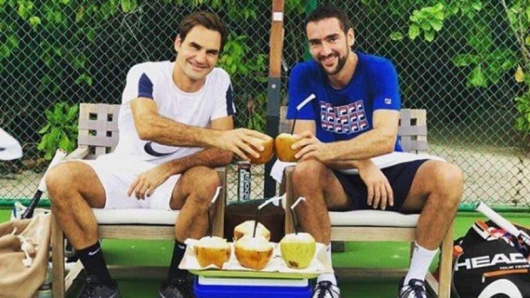 [VÍDEO] Cilic explica porque é que Federer tem de agradecer à sua esposa