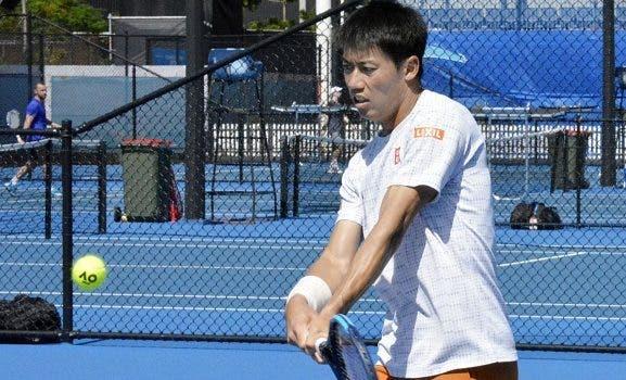 Ainda a recuperar da lesão, Nishikori pode nem sequer jogar o Australian Open
