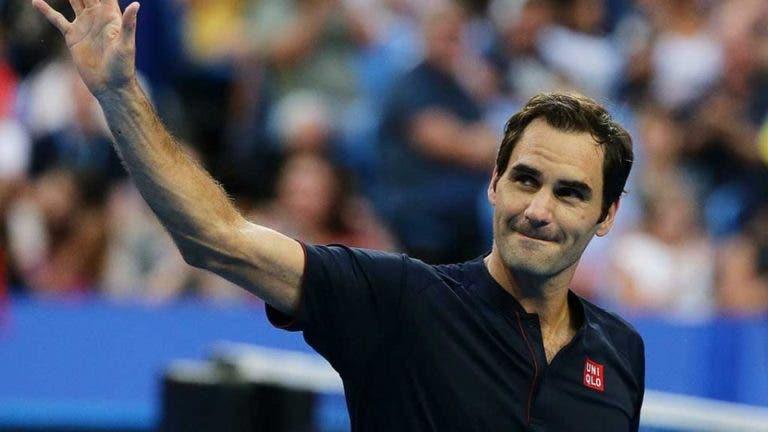 Federer: «Prefiro ser número 17 do mundo e ganhar Grand Slams do que ser número três»