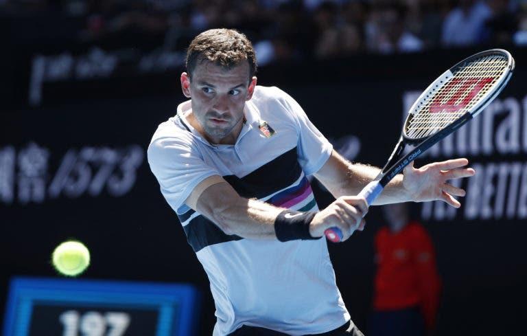 Dimitrov desiste de Roterdão e vai sair do… top 30 do ranking mundial