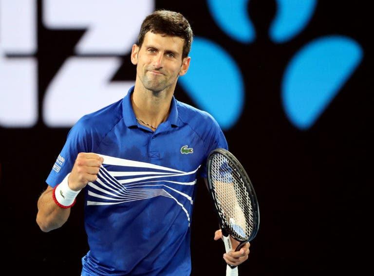 Djokovic elogia exibição: «Foi um dos meus melhores jogos de sempre na Rod Laver Arena»