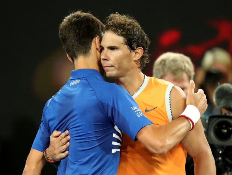 Toni Nadal e a final do Open da Austrália: «Cada ataque do meu sobrinho era respondido com um winner do Djokovic»
