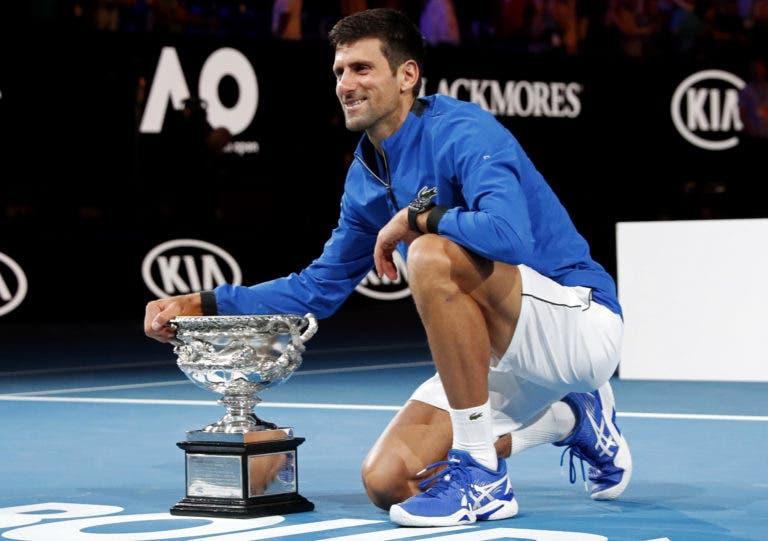 Djokovic torna-se no maior campeão da história no Open da Austrália