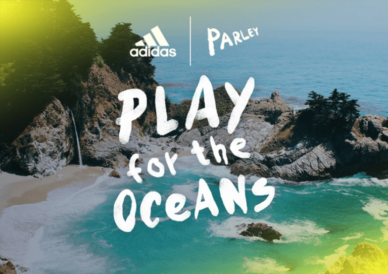 Adidas cria linha de roupa e calçado para combater a poluição do oceano