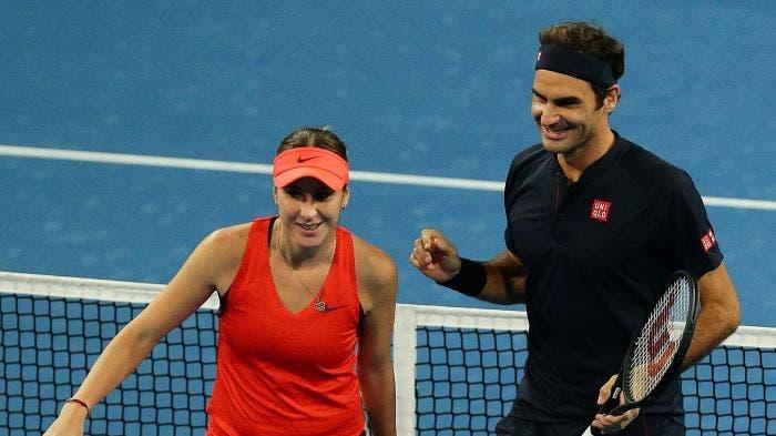 Federer admite: «Não esperava que a Bencic ganhasse no Dubai»