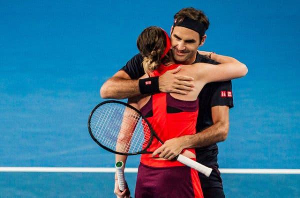 Federer leva a melhor sobre Serena e Suíça vence eliminatória frente aos Estados Unidos