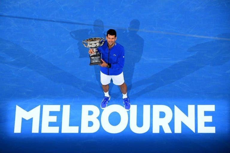 A melhor exibição que Schwartzman já viu na vida… foi de Djokovic