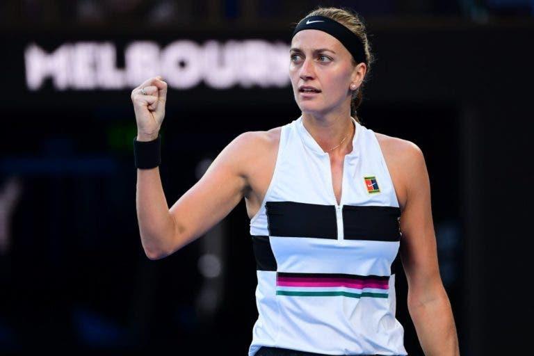 A mensagem de inspiração do técnico de Kvitova para a final do Australian Open