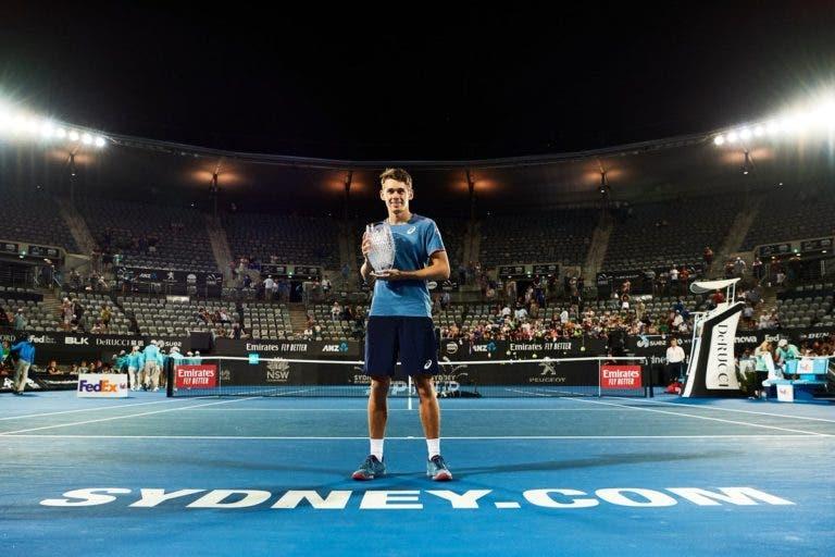 Circuito ATP já tem sete campeões estreantes em 2019
