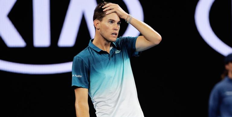 Treinador ficou chocado com a má figura de Thiem no Brasil: «Cansado e lento»