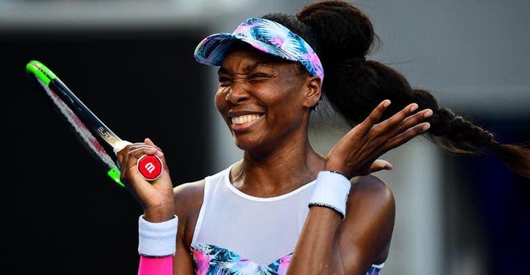 Venus Williams despacha top 20 e marca duelo com Barty em Birmingham