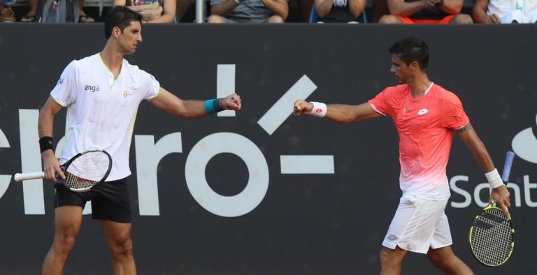 Brasil na FINAL. Bellucci e Dutra Silva vão discutir o título de pares no Rio Open