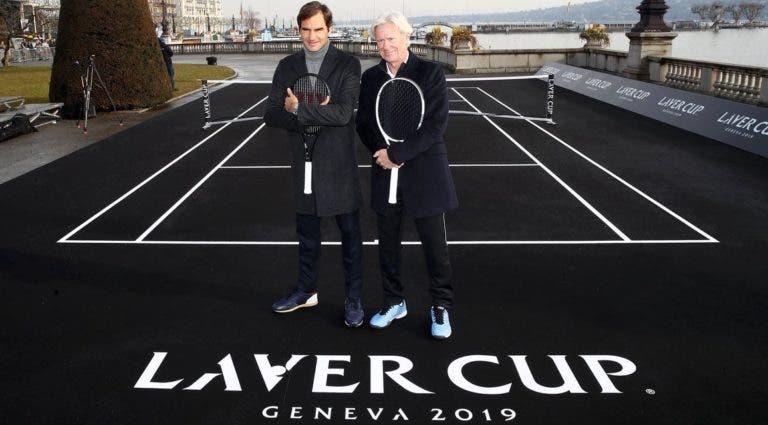 Laver Cup une-se ao ATP mas prova de Federer continua a não oferecer pontos
