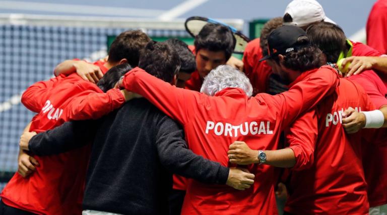 Taça Davis: eis os possíveis adversários para Portugal em setembro