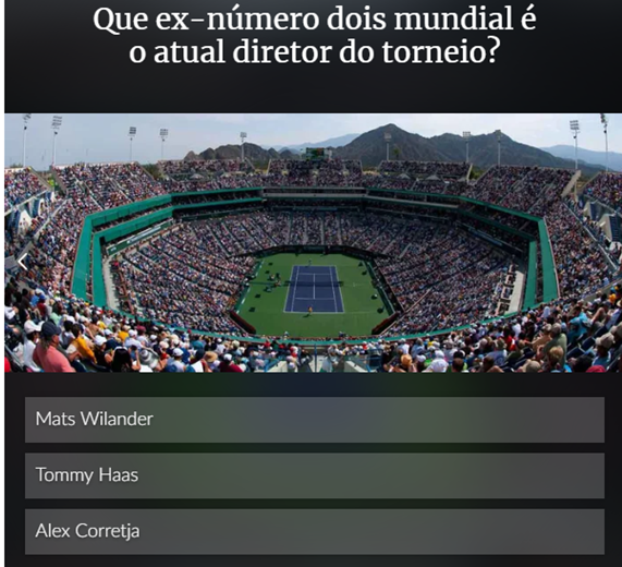 Quiz: Mostre o que sabe sobre Indian Wells