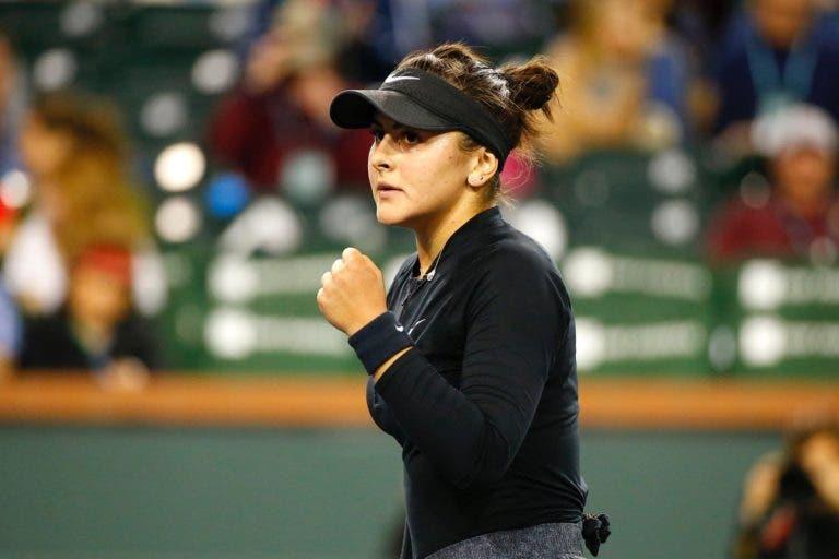 O conto de fadas continua: Andreescu está na final de Indian Wells
