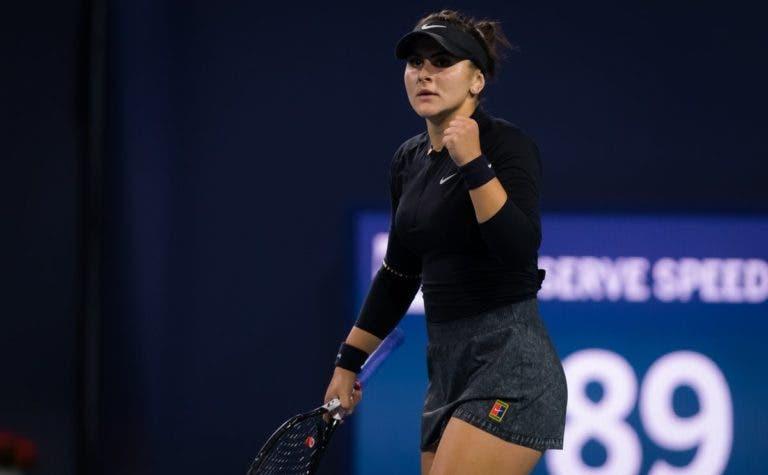 Andreescu 'responde' a Kerber: «O meu ténis fala por mim»
