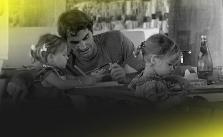 Dia do Pai: conheça os tenistas que se destacam (também) fora dos courts