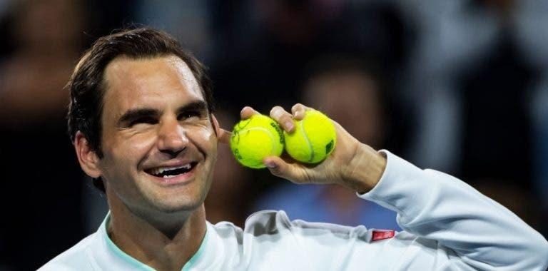 Federer e Thiem: os únicos jogadores com mais do que um título em 2019