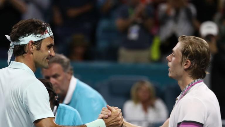 Shapovalov: «Federer não tem fraquezas e por isso é o GOAT»