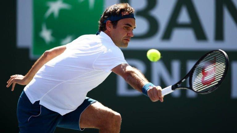 Federer e os «cinco minutos cruciais» que mudaram o rumo da final com Thiem em Indian Wells