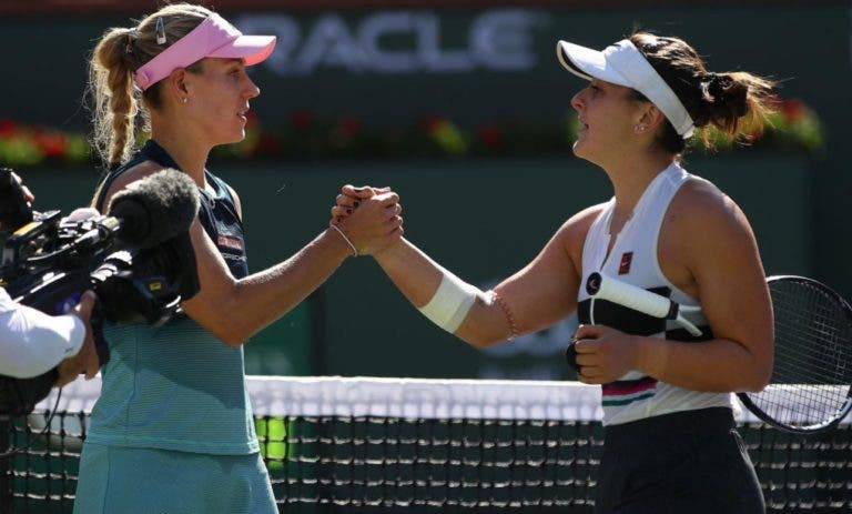 Kerber: «Estou triste com a derrota mas Andreescu mereceu o título»