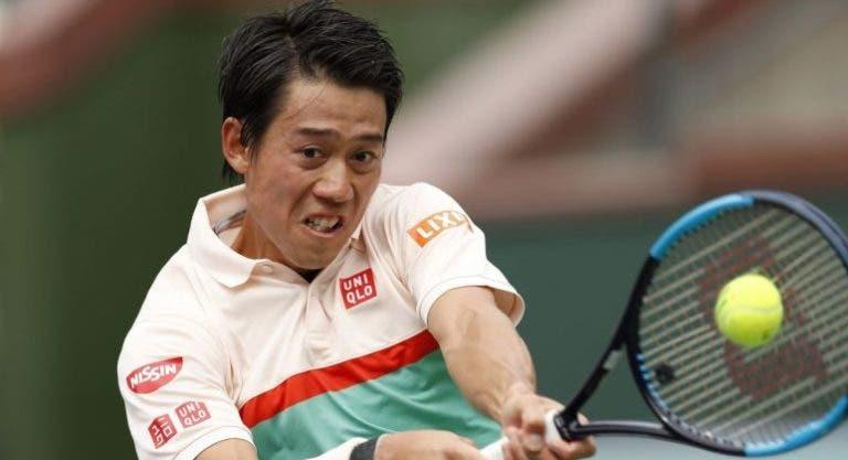 Depois de derrotas surpreendentes, Nishikori enumera os aspetos que tem de melhorar para terra batida