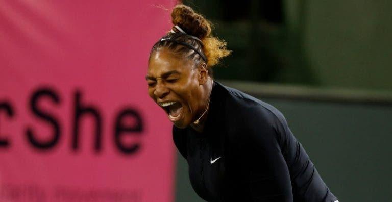 Show de ex-número 1 em Miami: Serena, Kerber e Wozniacki ganham, mas Muguruza perde