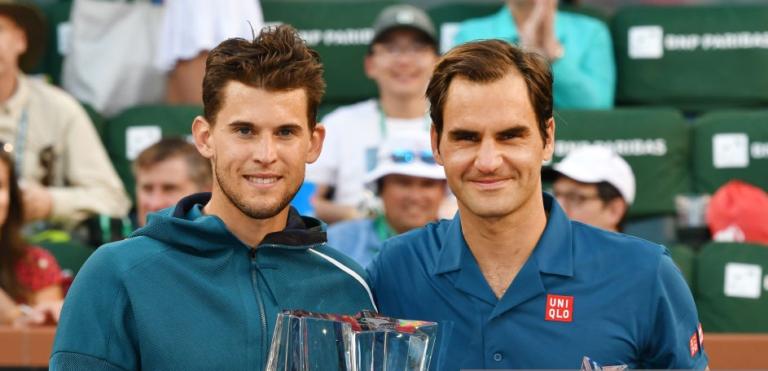A reação de Thiem à operação de Federer: « Adoro vê-lo jogar, estou triste por estar fora até Wimbledon»