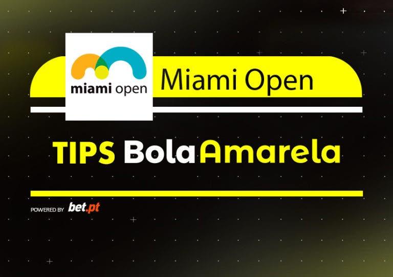 Apostas: Tips Miami Open | Final Masculina | 31/03/2019