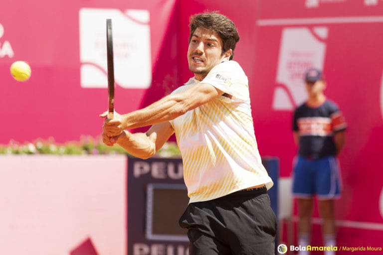 João Domingues regressa ao court esta quinta-feira à tarde no US Open
