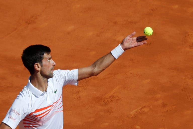 Djokovic desvaloriza derrota: «Em Roland Garros é que preciso de estar em forma»