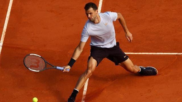 Grigor Dimitrov sobrevive batalha de cinco sets e avança em Paris