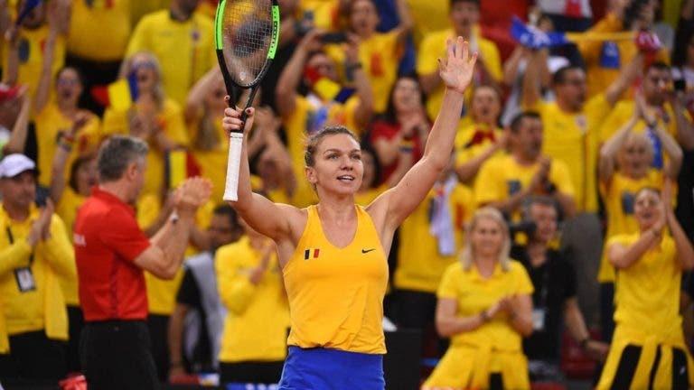 Meias-finais da Fed Cup empatadas, com Halep, Barty e Garcia em destaqueBR
