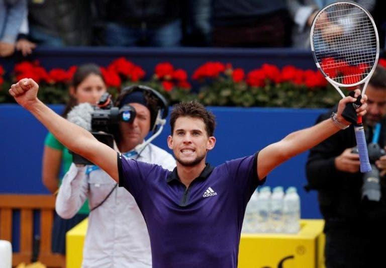 Thiem recusa assumir-se como principal candidato a Roland Garros: «Ainda falta muito para Paris»