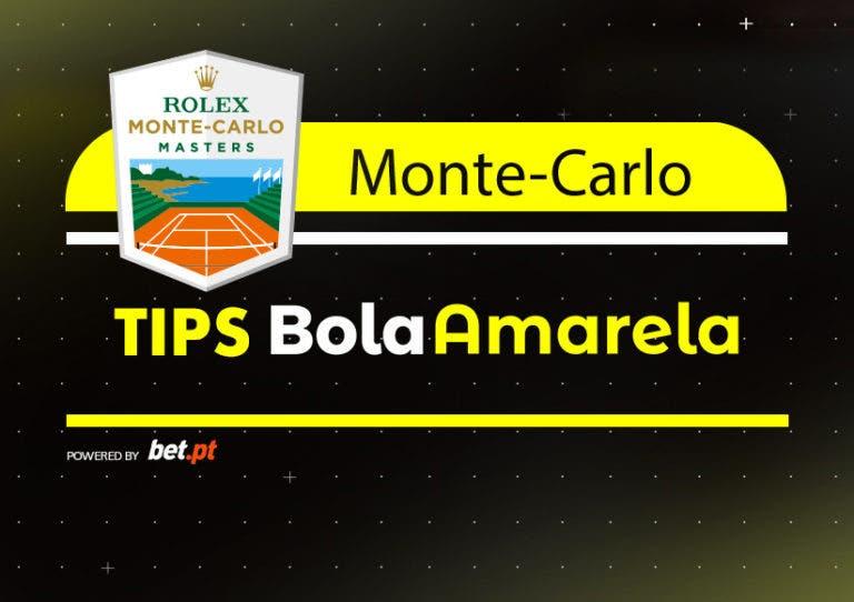 Apostas: Tips ATP Monte Carlo | 18/04/2019