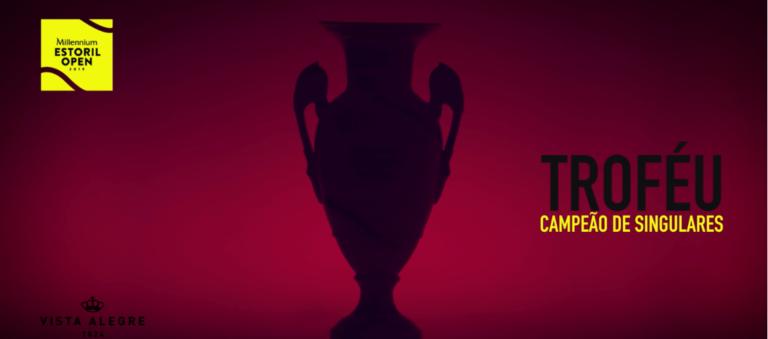 Já conhece o novo troféu do Millennium Estoril Open?