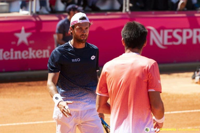 João Sousa despede-se de Roland Garros com derrota na 1.ª ronda de pares