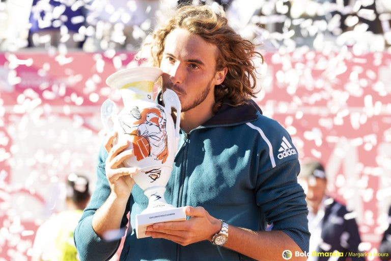 Stefanos Tsitsipas é o novo CAMPEÃO do Millennium Estoril Open