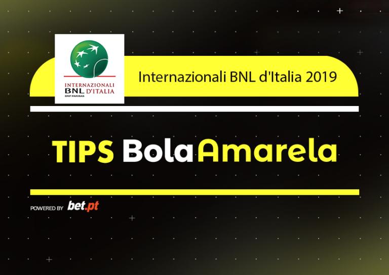 Apostas: Tips Internazionali BNL d'Italia | 13/05/2019